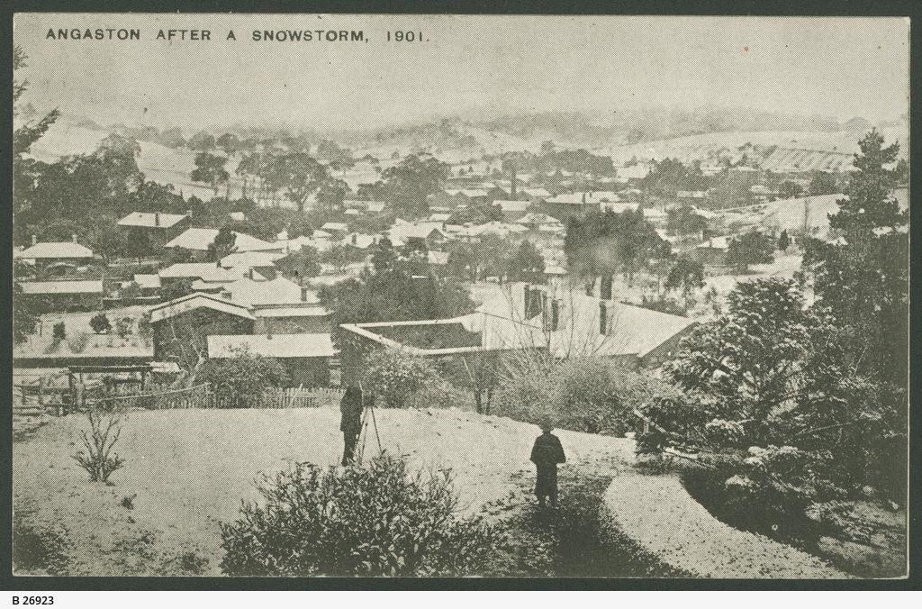 Angaston snow 1901
