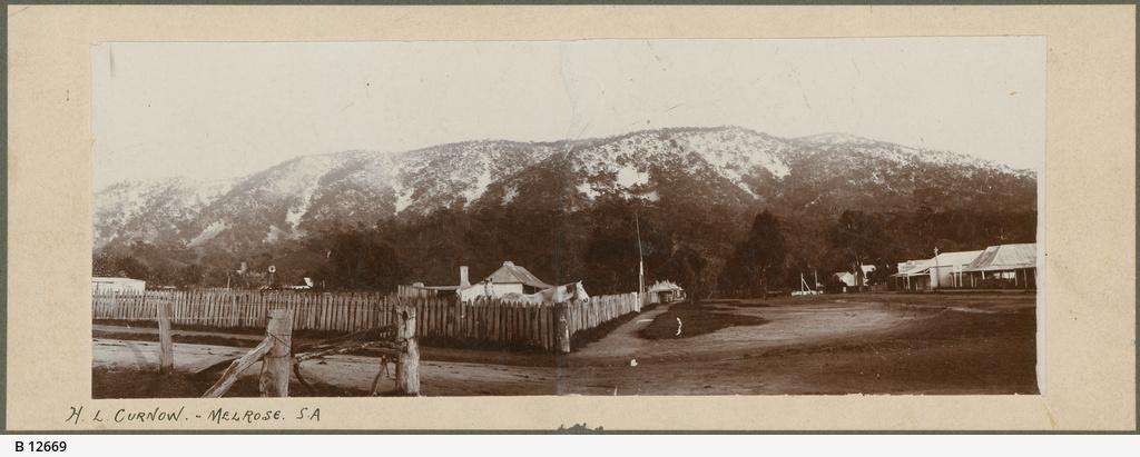 Melrose Mt Remarkable snow 1880