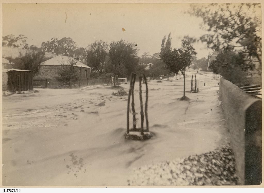 Flooding Angaston 1894