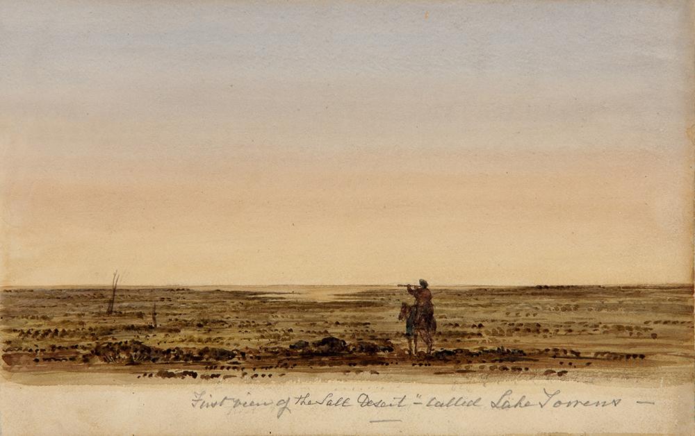 Frome Salt 'Lake' 1843