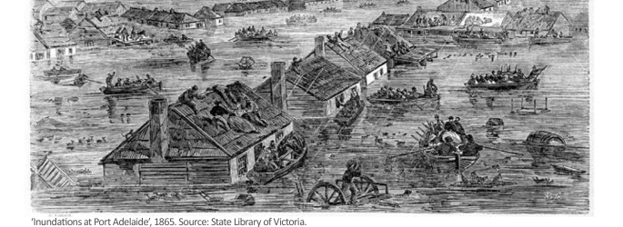 Inundations at Port Adelaide-1865-for-web